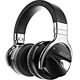 Hetyre HT9 Active Noise Cancelling Bluetooth Headphones with Microphone Hi-Fi Deep Bass Stereo Over Ear Earpads Wireless NFC Headset 36H Playtime Wired Mode for PC/Cell Phones/TV (2018 Updated)