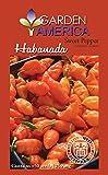 Garden America Habanada Pepper Seed Packet