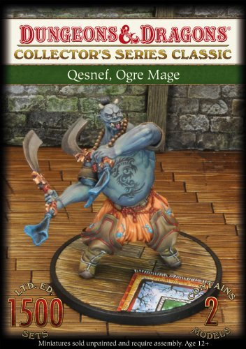 Dungeons And Dragons Qesnef Ogre Mage Miniature by Gale Force 9