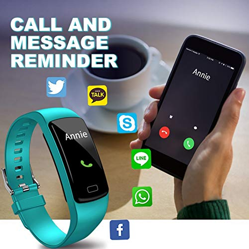 Airbinifit Fitness Tracker for Women Men,Colorful Screen Activity Tracker Smart Watch with Heart Rate Monitor,Waterproof Pedometer Watch, Sleep Monitor, Stopwatch,Step Counter【2020 Version】