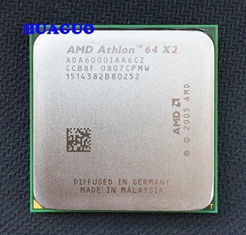 AMD Athlon 64 X2 6000+ 3 GHz Dual-Core CPU Processor ADA6000IAA6CZ Socket AM2 2MB 89W by AMD