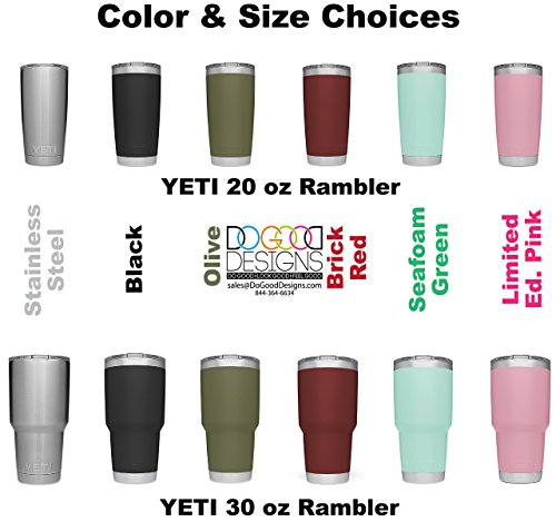 YETI New DuraCoat Colors obtainable by methods of  Stethoscope model w Custom Name engraved Stainless metallic travelling Mug NOT A STICKER Commuter travelling Mugs