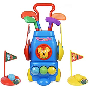 Amazon.com: Little Tikes TotSports Grab N Go Golf: Toys & Games