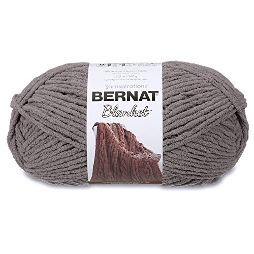 - Bernat Blanket Yarn, Dark Grey