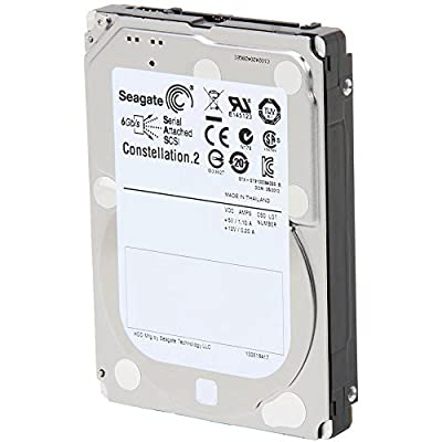Seagate Constellation.2 7200RPM 6 Gb/s SAS 64MB Cache 2.5 Inch Internal Bare Drive from SEAGATE