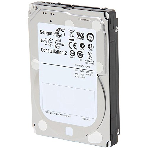 Seagate 1TB Constellation SAS 6Gb/s 64MB Cache 2.5-Inch Internal Bare Drive (ST91000640SS) by Seagate