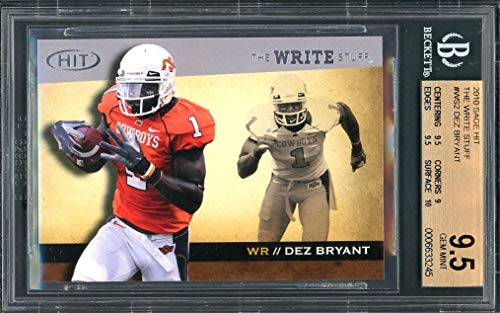 Amazon Com 2010 Sage Hit The Write Stuff Ws2 Dez Bryant
