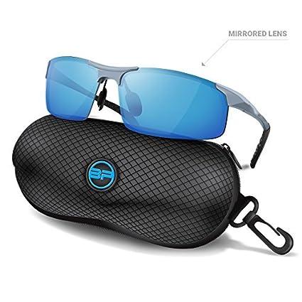 blupond deportes gafas de sol para hombres/mujeres – antivaho polarizadas gafas de seguridad de