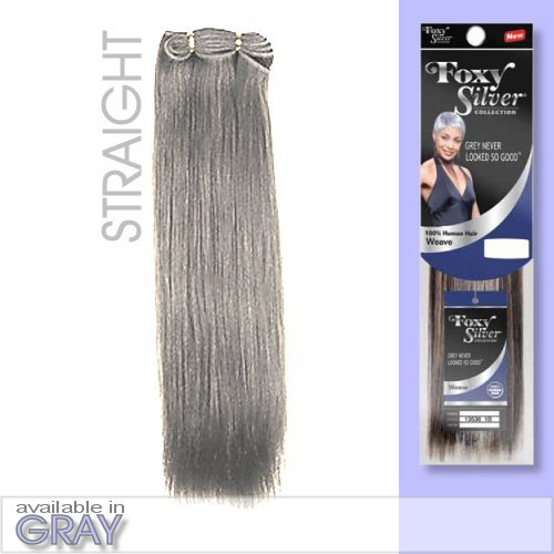 FOXY SALON WEAVE STRAIGHT08 Silver product image