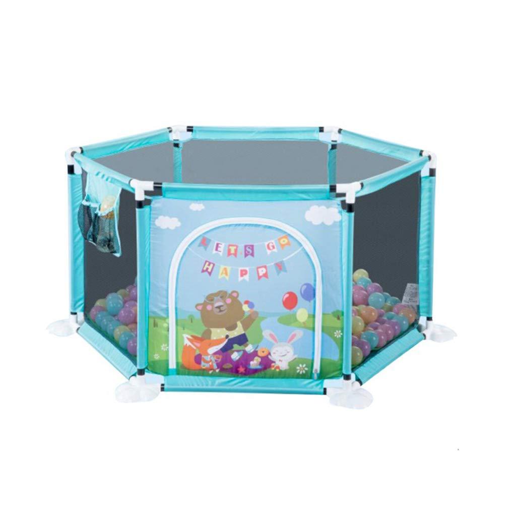 幼児と子供のフェンスの赤ちゃんゲーム屋内の家庭の幼児の安全クロールフェンスのアンチ秋クロールパッドの遊園地 SHWSM B07TB6RSBS