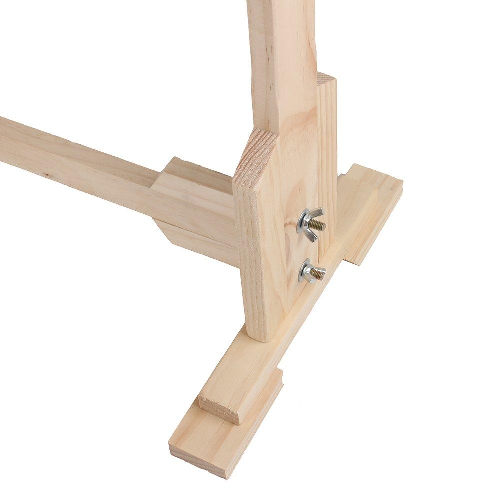 Greensen Holzrahmen Stickerei Ständer Handarbeit Stickrahmen Rahmen ...