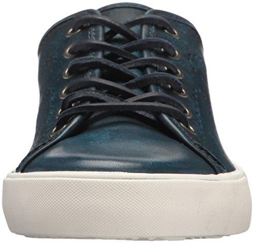 Frye Mens Brett Perf Log Low Tennis Shoe Navy
