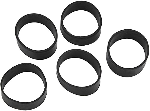 5PCS Rubber Fixing Band for 5CM Webbing Weight Belt Scuba Diving Accessories