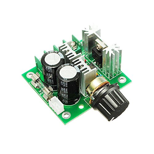 Motor Controller Circuit (HiLetgo 12V-40V 10A PWM DC Motor Speed Controller CVT Speed Switch Module)