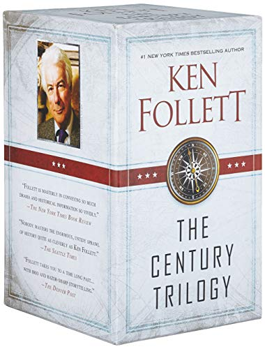 The Century Trilogy Trade Paperback Boxed Set: Fall of Giants; Winter of the World; Edge of Eternity (The Day The Berlin Wall Came Down)
