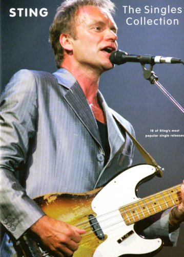 (Sting-The Singles Collection-Piano/Vocal/Guitar-Music Book)