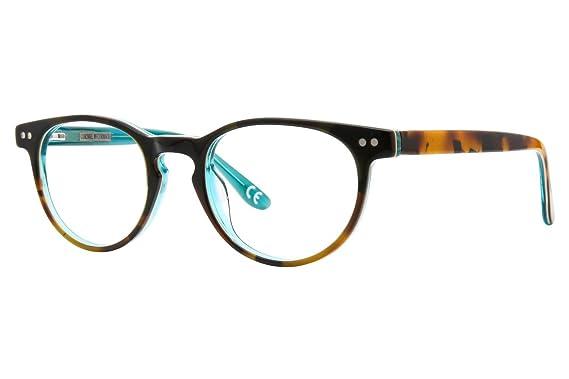 Amazon.com: Corinne McCormack Thompson Womens Eyeglass Frames - Teal ...