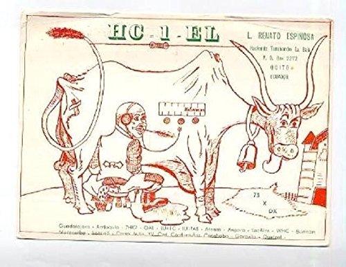 QSL Card HC1EL Quito Ecuador 1966