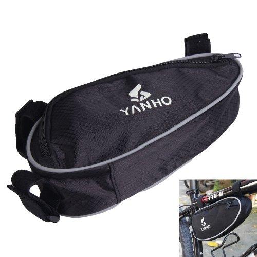 Chinatera Triangle Bicycle Cycling Bike Bag Beams Tripod Phone Tools Kit Tool Bag