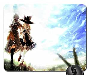 Alice and Marisa Mouse Pad, Mousepad (10.2 x 8.3 x 0.12 inches)