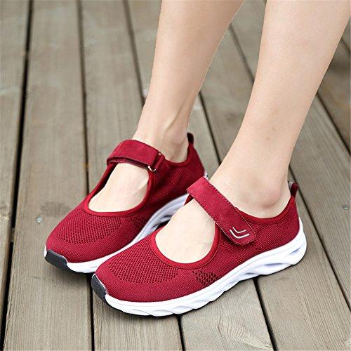41 Jane Sneakers Mary Running Traspiranti Fitness Ulogu Rosso da Shoes Sportive Estive 36 Leggero Ginnastica Scarpe Donna qfqUwF