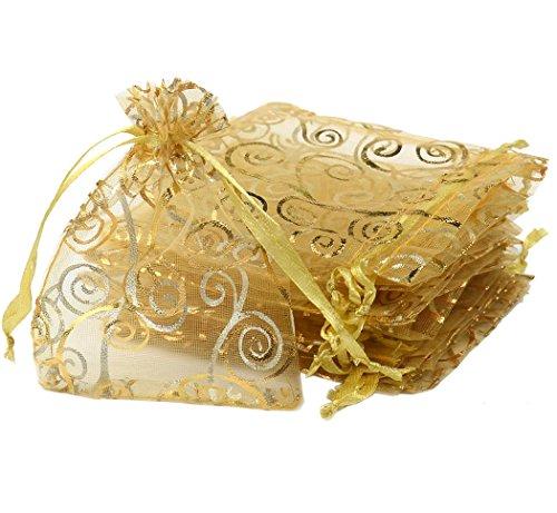 Gold Wedding Favor Bags - 9