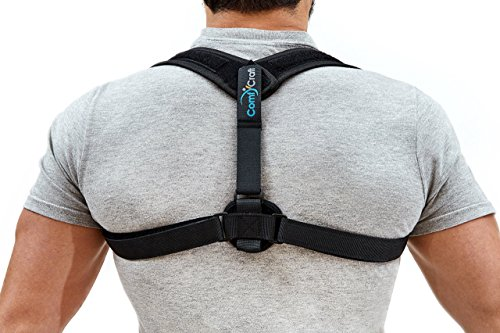 Back Straightener Posture Corrector - Effective Spine Physical Therapy - Upper Back Brace & Clavicle Support for Men & Women - Kyphosis, Shoulders, Neck Pain Relief - Comfortable Discreet Design by ComfyCraft