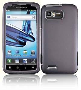 Gray Hard Case Cover for Motorola Atrix 2 MB865