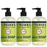Beauty : Mrs. Meyer's Clean Day Liquid Hand Soap, Lemon Verbena Scent, 12.5 fl oz (Pack of 3) (Pack of 3)