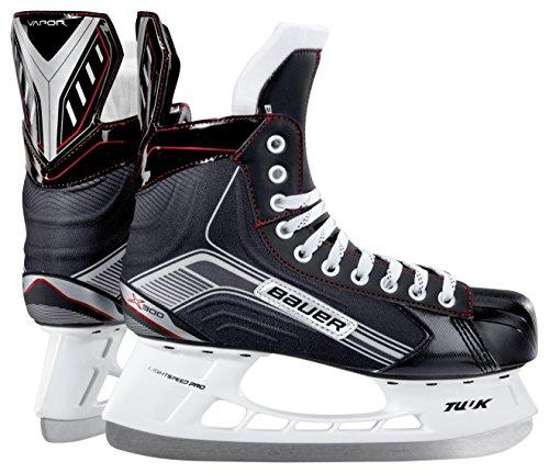 Bauer Senior Vapor X300 Skate, Black/Silver, R 09.0 - Bauer Skates