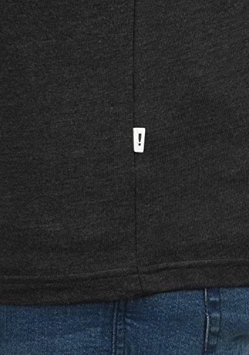 Grey York Dark Manches T À Melange Rond 8288 Encolure shirt Chemise Homme Courtes Imprimé solid Bwd7qIxP7