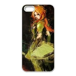 Dota 2 iPhone 4 4s Cell Phone Case White 6KARIN-124224