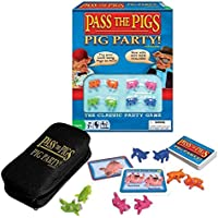 Winning Moves Australia Pass The Pigs - Pig Party Edition Pass The Pigs Party Dice Game