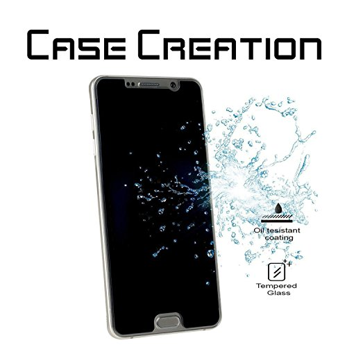 Case Creation Samsung A9Pro Temper Glass/Samsung A9Pro Privacy Tempered Glass/Privacy HD Screen Protection for Samsung A9 Pro
