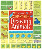 [By Fiona Watt ] Step-by-Step Drawing Animals (Step-by-Step Drawing Book) (Paperback)【2018】by Fiona Watt