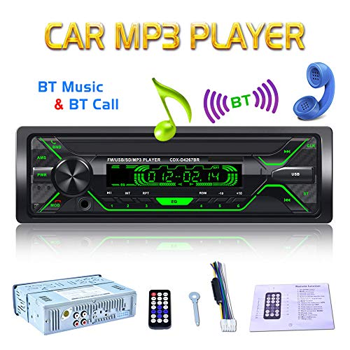 Car Stereo Receiver- Bluetooth MP3 Player Radio Stereo: Amazon.co.uk: Electronics