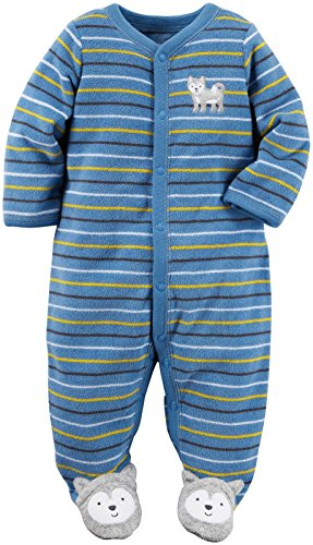 Carter's Baby Boys Terry, Blue, 3 Months (Clearance Baby)