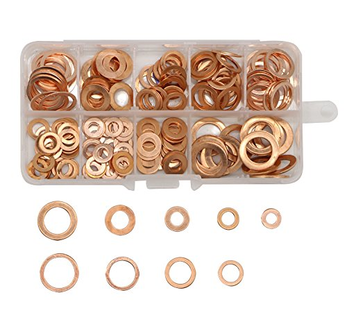5 16 copper washers - 3