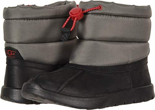 (UGG Unisex-Kids K Puffer WP Snow Boot, Black, 6 M US Big)