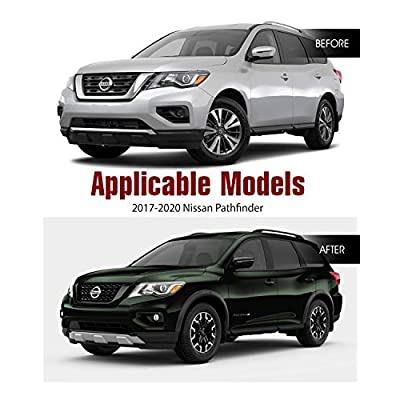 Fog Lights Assembly For 2020-2020 Nissan Pathfinder With Clear Lens 2PCS OEM Fog Lamps Replacement AUTOWIKI: Automotive