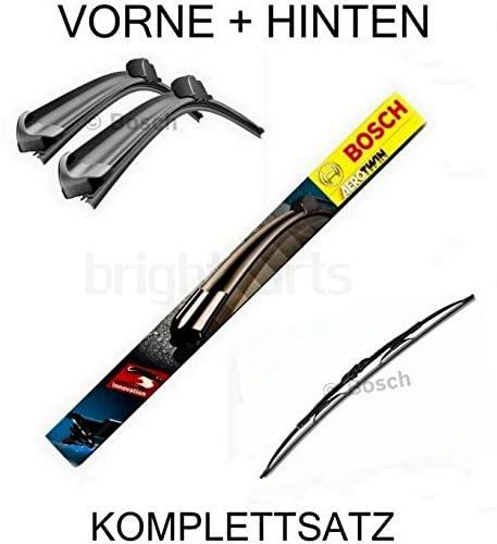Bosch Ar552s H595 Komplettsatz Vorne Hinten Scheibenwischer WischblÄtter Auto