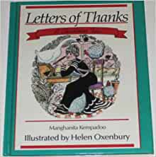 Letters Of Thanks A Christmas Tale By Manghanita Kempadoo