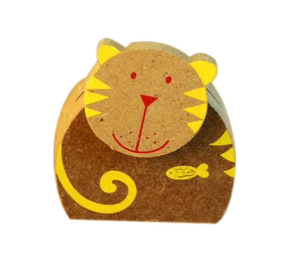 Cartoon Cat Memo Holder Card/Photo Clip Desk Decor(4 Pieces)