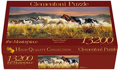 Clementoni Jigsaw Puzzle 13200 Band Of Thunder by Clementoni