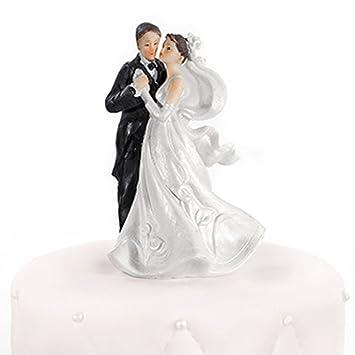 Hochzeitstortenfiguren Paar Tanzend 11 Cm Tortenfiguren Hochzeit
