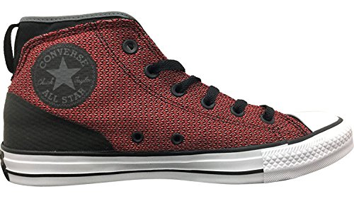 Converse Womens Chuck Taylor All Star Syde Street Mid Mesh Trainers Casino/Black/White