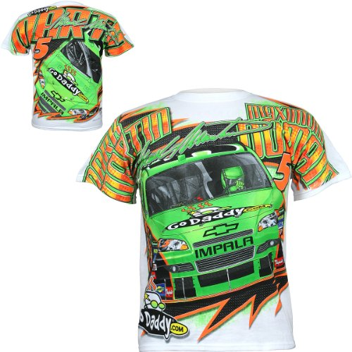 Chase Authentics Mark Martin Total Print T-Shirt (Mark Martin Shirt)
