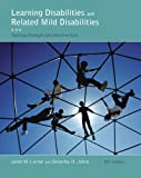 Bundle: Learning Disabilities and Related Mild Disabilities, 12th + Education CourseMate with EBook Printed Access Card, Lerner and Lerner, Janet W., 1111974934