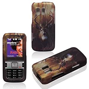 Carrie Diy 2D Buck Deer Samsung Straight Talk TracFone SCH Messenger R450 Cricket, MetroPCS case wgwa0sWdPxV cover Hard Snap-on Rubberized Touch cell phone Cover case cover Faceplates