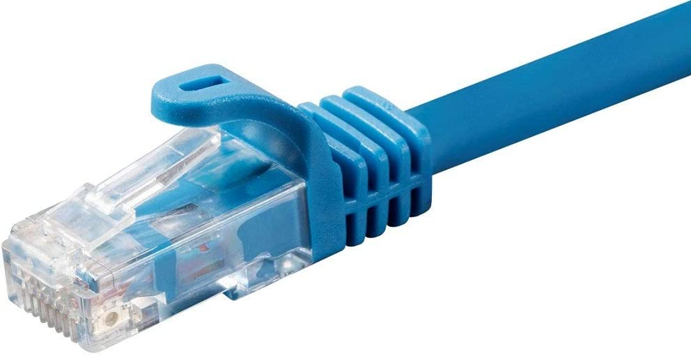 75ft Blue Cat6 CMP RJ45 Patch Cable Ethernet LAN Network Internet Plenum Rated